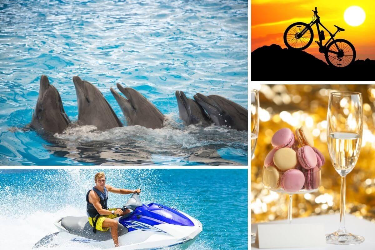 fakultatív programok delfinles biciklizes jetski unneples gran canaria kanári szigeteki programok vállalkozása szervezése